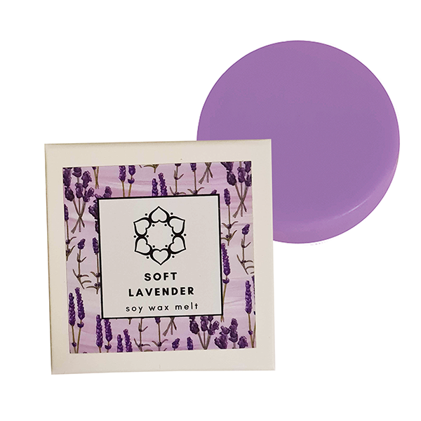 Soft Lavender Single Soy Wax Melt