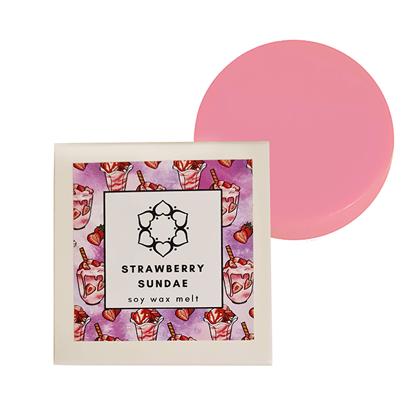 Strawberry Sundae Single Soy Wax Melt
