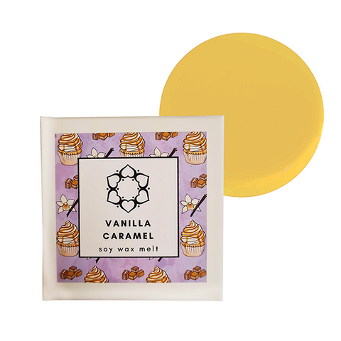 Vanilla Caramel Single Soy Wax Melt