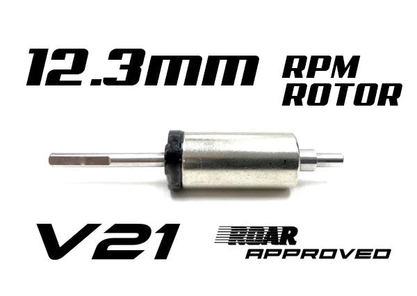 R1 V21 12.3mm RPM Rotor 123720 C1 - R1 Brushless Motor Lab, LLC.
