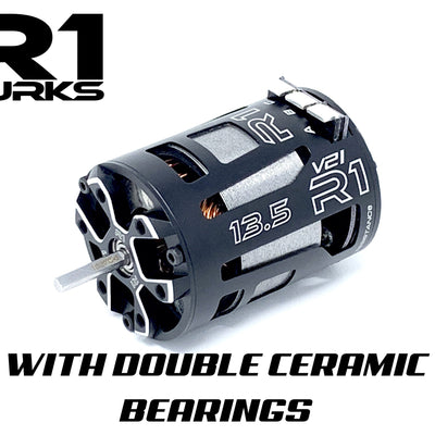 V21 13.5T with Double Ceramic Bearings 020009 - R1 Brushless Motor Lab, LLC.