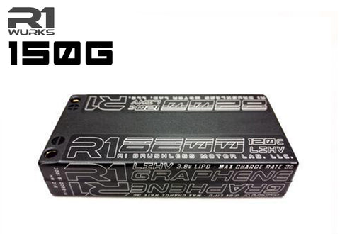 R1 10000 mAh 50C 7.6v 2S LiPo<BR>GRAPHENE BATTERY 030010