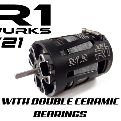 V21 21.5T with Double Ceramic Bearings 020011 - R1 Brushless Motor Lab, LLC.