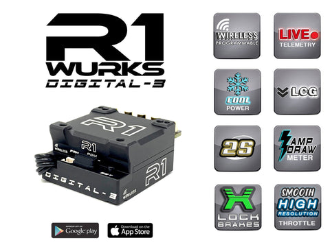 R1 Digital 3 ESC Wireless Adaptor Now shipping! 040008