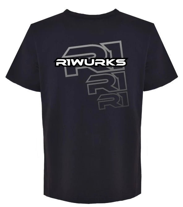 """R1 Digital 3"" T-Shirt Large 090010 C3 - R1 Brushless Motor Lab, LLC."