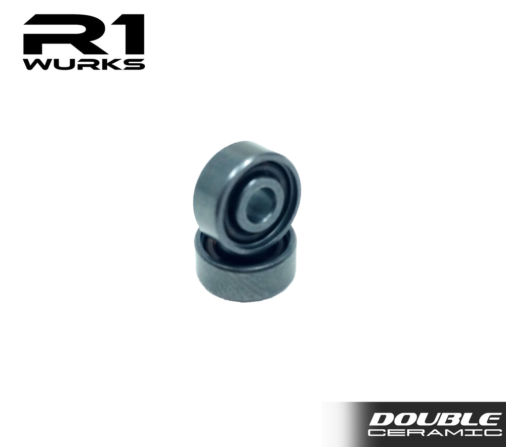 R1 10X Double Ceramic Coated Bearing w/  Si3N4 Balls (2pcs) 020021 A1