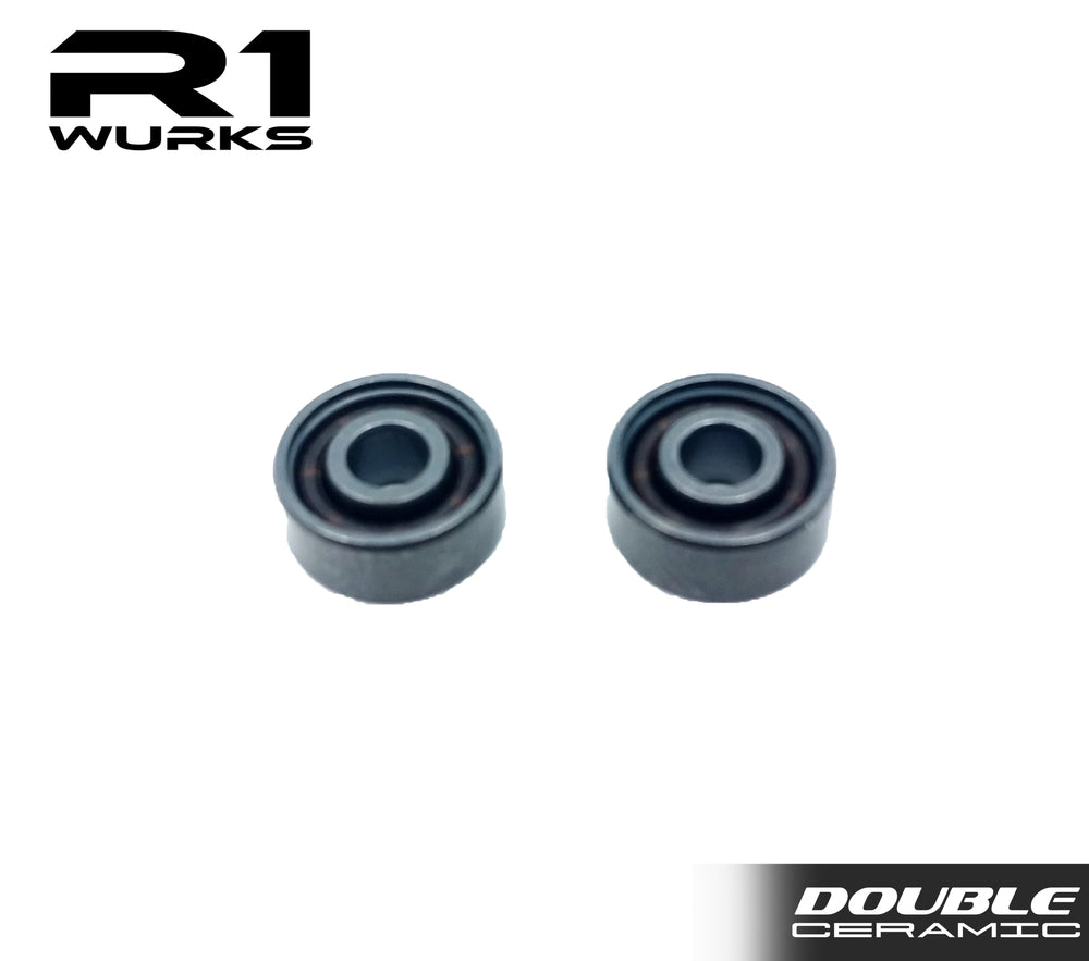 R1 10X Double Ceramic Coated Bearing w/Si3N4 Balls (2pcs) 020021