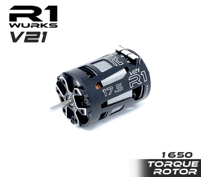 R1 17.5 V21 with 1650 Torque Rotor 020010