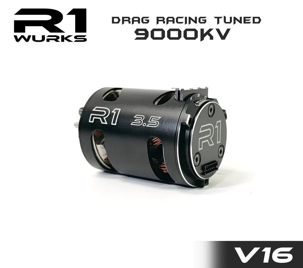 R1 3.5T V16 Drag Racing Tuned 9000kv Motor 020110