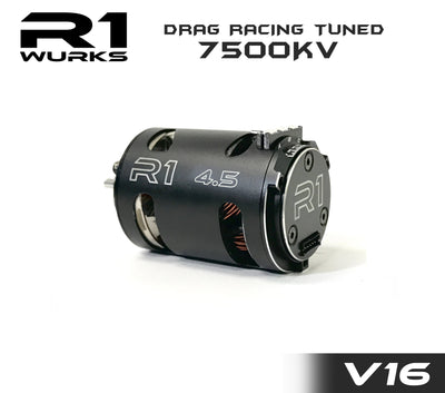 R1 4.5T V16 Drag Racing Tuned 7500kv Motor 020109