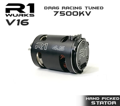 R1 4.5T V16 Drag Racing Tuned 7500kv Motor w/ Hand Picked Stator 020109-2