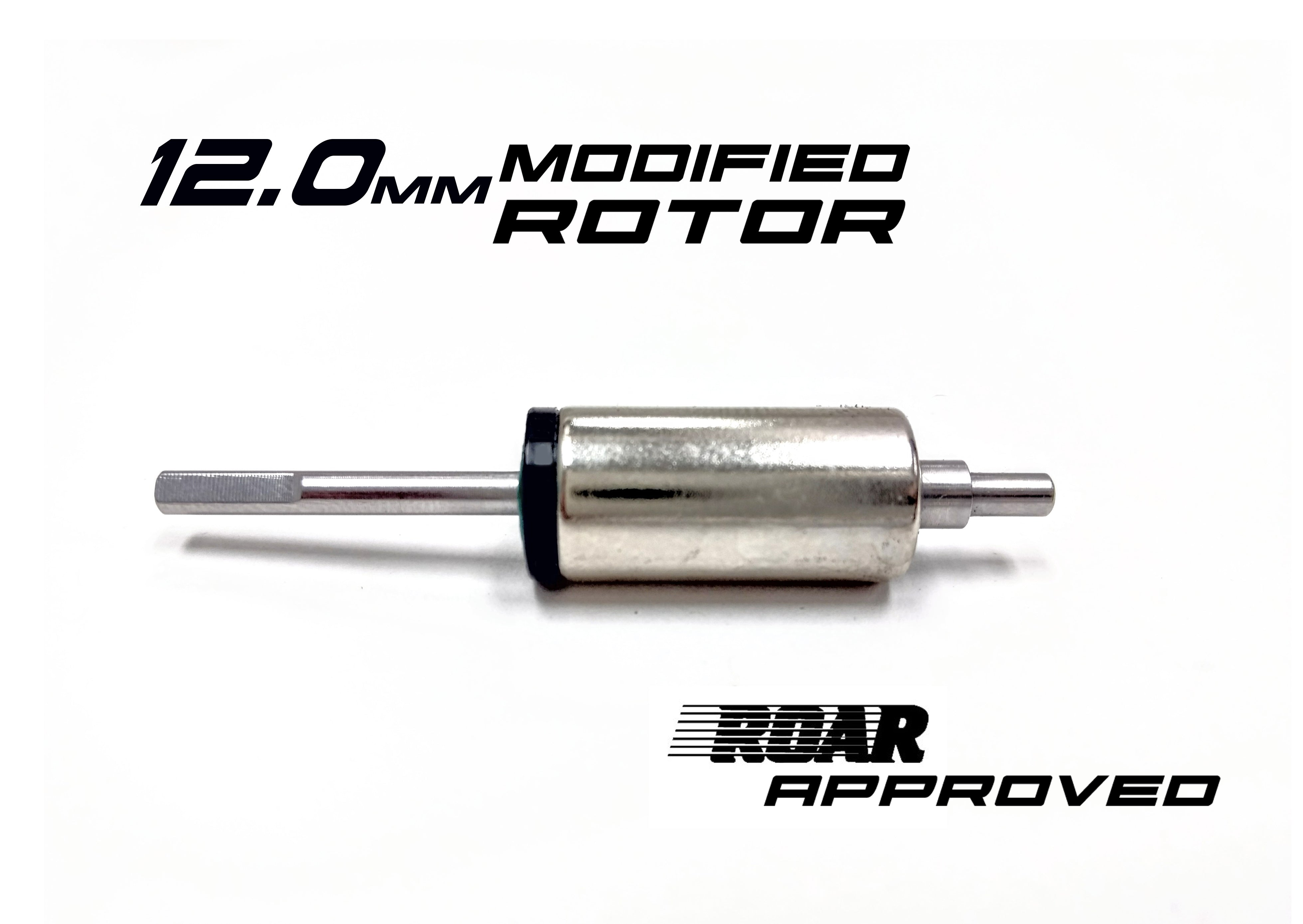 R1 V16 12.0mm Modified Rotor 020055 C3 - R1 Brushless Motor Lab, LLC.