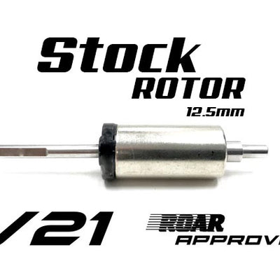 R1 V21 12.5mm Stock Rotor 125704 C2 - R1 Brushless Motor Lab, LLC.