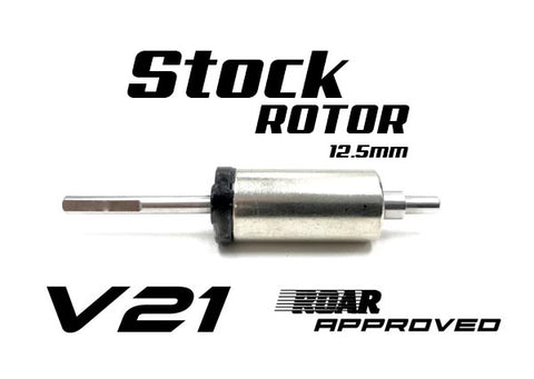 R1 V21 12.5mm Stock Rotor 125704 G2 - R1 Brushless Motor Lab, LLC.
