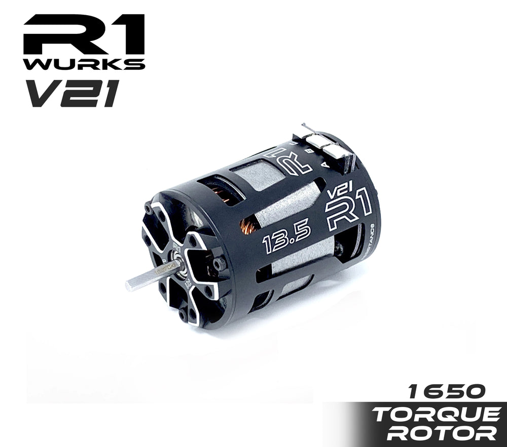 R1 13.5T V21 with 1650 Torque Rotor 020009