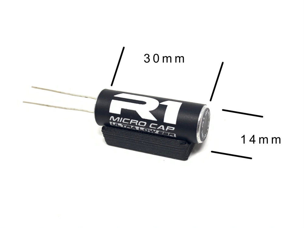 Micro cap 2S  3X to 5X more capacity than most stock ESC capacitor 040017