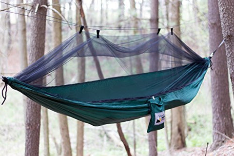 Camping Hammock With Mosquito Net-Beyond The Outdoors