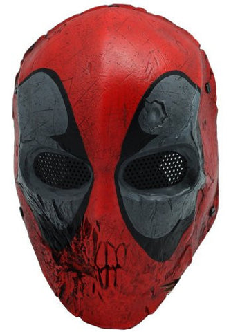 Deadpool Paintball Mask For Sale-Beyond The Outdoors