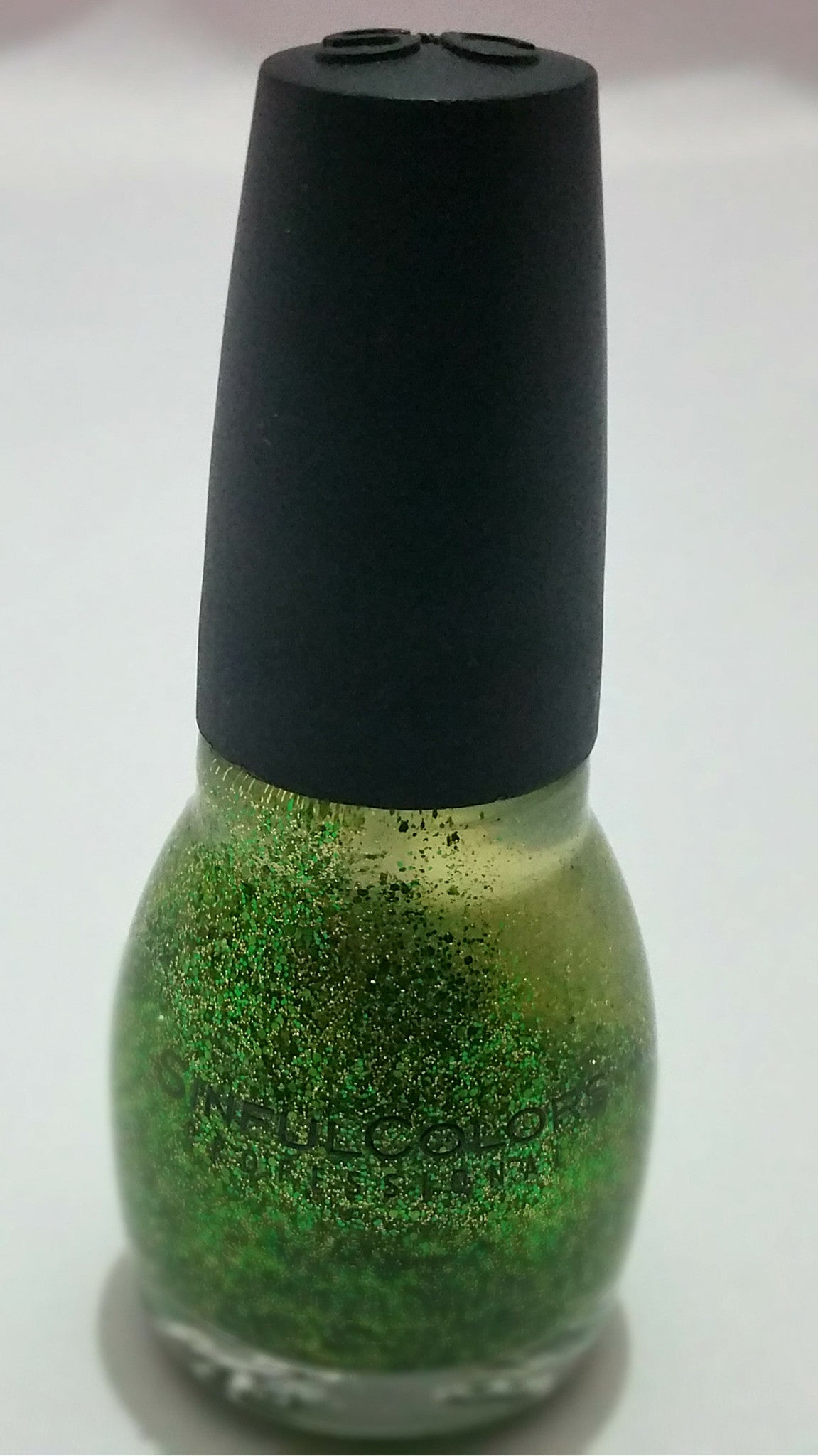 Sinful colors shimmery gold/green nail polish – TROPICALMISS