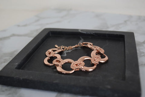 LB3 Swanky Rose gold plated  bracelet