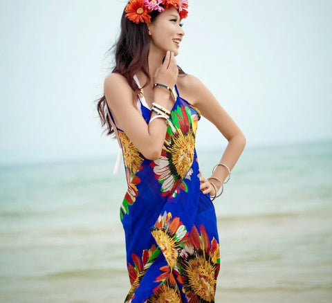BW4 Beach Dress cover up Swimwear Sarong