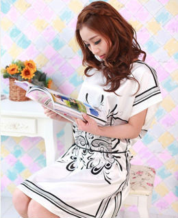 SG1 Butterfly Pattern Sleepwear  Dress