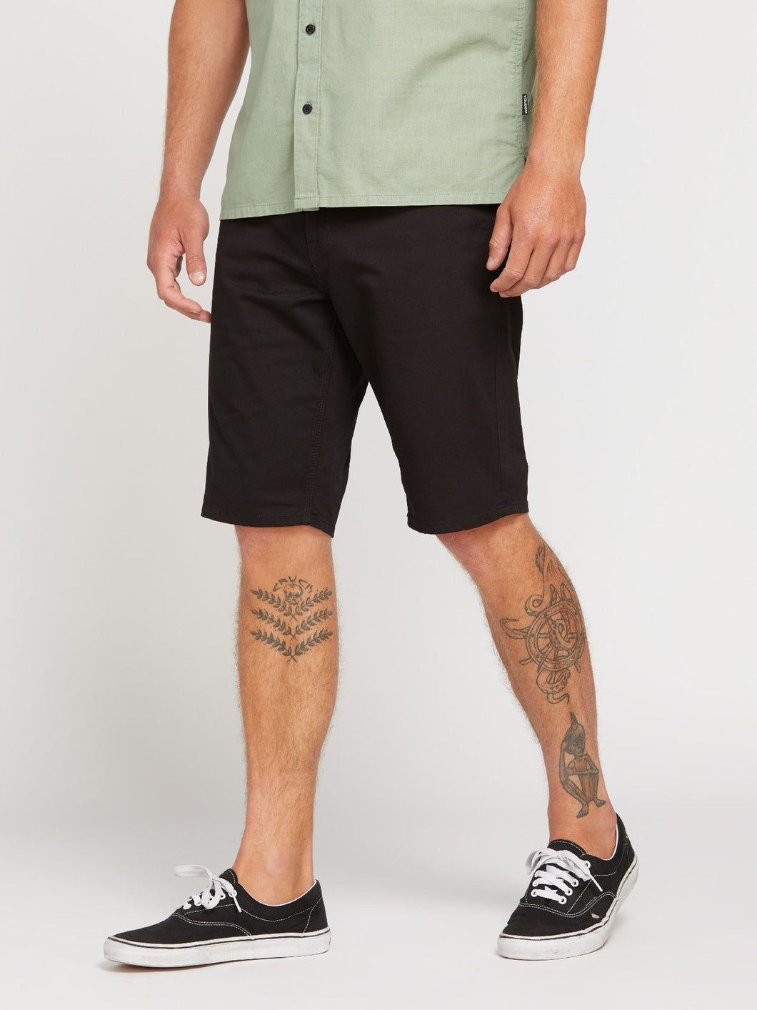 SOLVER LITE 5 POCKET SHORT - BLK