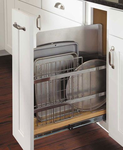 Lifewit kitchen sliding organizer