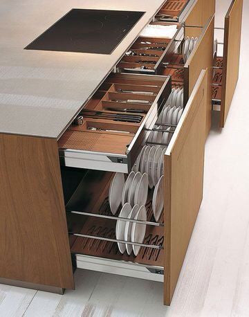 Lifewit drawers and shelves for kitchen organization