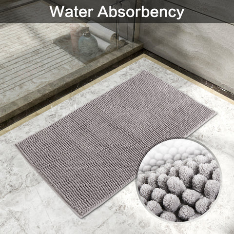 exceptional water absorbency - Chenille mats