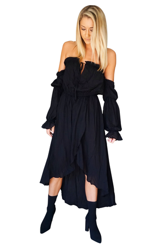 Elyse Off-Shoulder Dress