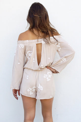 Mojave Off-Shoulder Romper