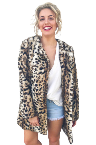 That's What I Like Faux Fur Coat