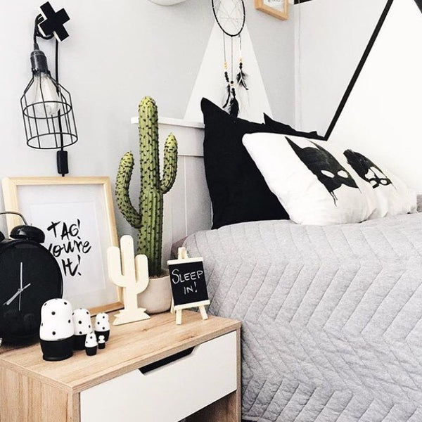 Boys Bedroom - Featuring our Tag You're It Wall Print. Childrens Prints