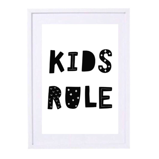 KIDS RULE - INSTANT DOWNLOAD PDF FILE