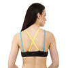 Black Pop | Switcher Bra + 2 Detachable Backs + 2 Shoulder Straps