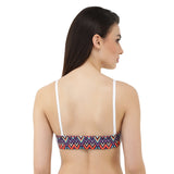 Multicolour Triangle Print Back