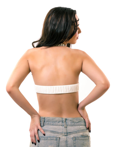 White Scrunch | Detachable Back