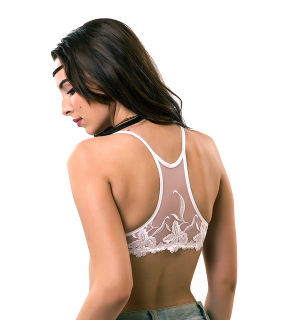Lace Racer Back | Switcher Bra + Detachable Back