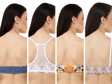 Mega Box | 1 Switcher Bra + 4 Mix and Matchable Switcher Backs (Denim, 2 Digital Prints, 1 Racerback)