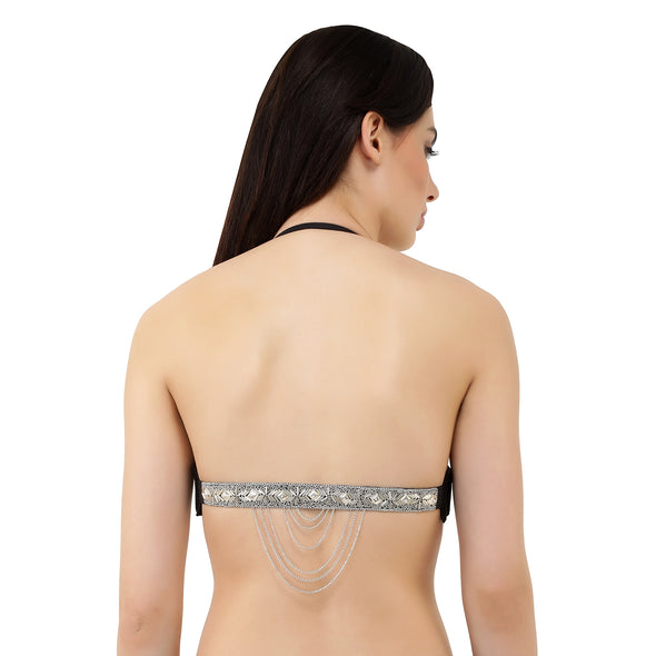 Lace + Chains | Switcher Bra + 2 Mix and Matchable Switcher Backs (Hand Beaded, Racerback)