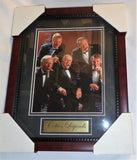 Boston Celtics Legends Bird Auerbach Heinsohn Cousey Framed Picture 13x16 Size
