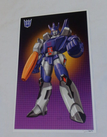 G1 Transformers Decepticon Galvatron Poster 11x17 Box Art Grid FREESHIPPING