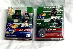 NCAA University of Kansas KU Jayhawks Football OYO Sports Figure FREESHIP