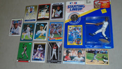 1991 Starting Lineup SLU Ken Griffey Jr Figure & Rookie Card Rc / Insert Lot