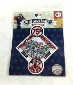 MLB 1912 to 1987 Boston Red Sox 75th Anniversary Fenway Park Jersey Patch FREESP