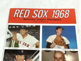 1968 Boston Red Sox Yearbook Team Issue Fenway Park Yaz Yastrzemski Conigliaro