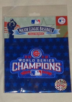 Official 2016 World Series Champions Chicago Cubs Jersey Logo Patch Sealed