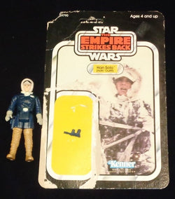 Vintage 1980 Star Wars ESB Han Solo Figure Complete Hoth 32 Cardback FREESHIP
