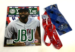 2018 World Series Yawkey Way Report Red Sox Program MLB Ticket Lanyard Pin Lot